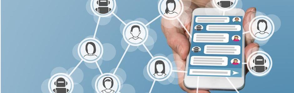 Chatbot mobile app image